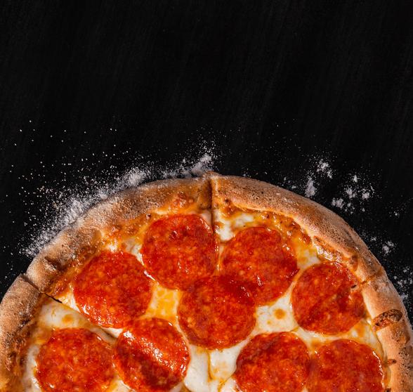 Сайт доставки иконцепция приложения Pizza Hut