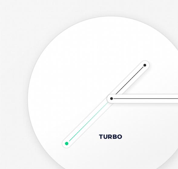 Брендинг исайт IT-платформы Турбо